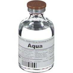 Aqua ad injectabilia Braun, Injekt-Flasche