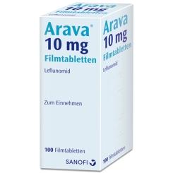 Arava 10 mg Filmtabletten