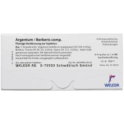 ARGENTUM/BERBERIS Comp. Ampullen
