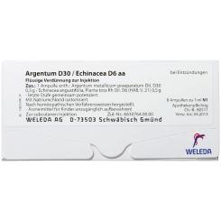 Argentum D30/ECHINACEA D 6 aa Amp.