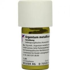 Argentum Metallicum Praep. D 8 Trituration