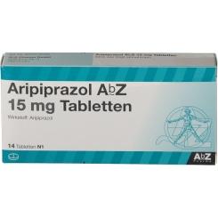 ARIPIPRAZOL ABZ 15 MG TAB