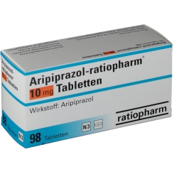 ARIPIPRAZOL ratiopharm 10 mg Tabletten