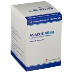 ASACOL 400 mg magensaftresistente Tabletten