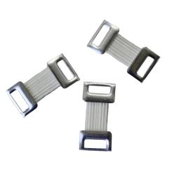 Askina® Verbandklammern Metall weiss