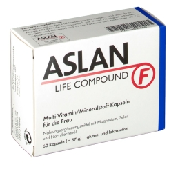 Aslan Life Compound F Kapseln