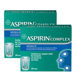 ASPIRIN® Complex Granulat 2 x 10 Beutel
