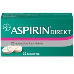 ASPIRIN® Direkt Kautabletten