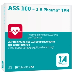 ASS 100 - 1 A Pharma® TAH
