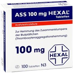 ASS 100 mg HEXAL®
