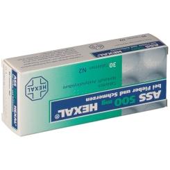 ASS 500 HEXAL® bei Fieber und Schmerzen
