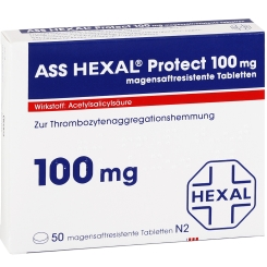ASS HEXAL® Protect 100 mg magensaftresistente Tabletten