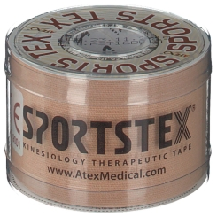 ATEX® SPORTS TEX Kinesiologie Tape 5 cm x 5 m Beige