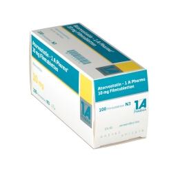 ATORVASTATIN 1A Pharma 10 mg Filmtabletten