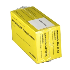 ATORVASTATIN AAA 20 mg Filmtabletten