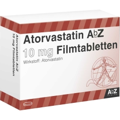ATORVASTATIN AbZ 10 mg