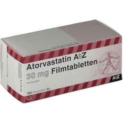 ATORVASTATIN AbZ 30 mg