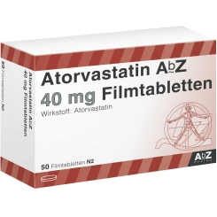 ATORVASTATIN AbZ 40 mg