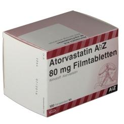 ATORVASTATIN AbZ 80 mg Filmtabletten