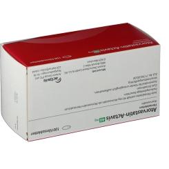 ATORVASTATIN Actavis 40 mg Filmtabletten