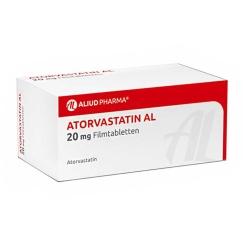 ATORVASTATIN AL 20 mg