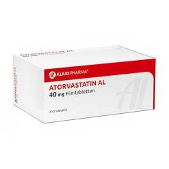 ATORVASTATIN AL 40 mg