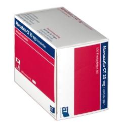 ATORVASTATIN-CT 20 mg Filmtabletten