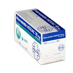 ATORVASTATIN HEXAL 10 mg