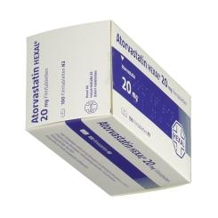 ATORVASTATIN HEXAL 20 mg
