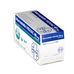 ATORVASTATIN HEXAL 40 mg
