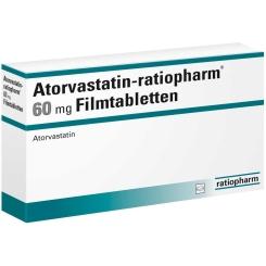 ATORVASTATIN ratiopharm 60 mg