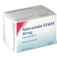 ATORVASTATIN STADA 40 mg Filmtabletten