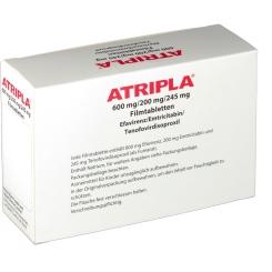 Atripla 600 mg/200 mg/245 mg Filmtabletten