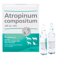 Atropinum compositum ad us. vet. Ampullen