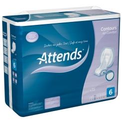 Attends® Contours Air Comfort 6 Einlagen