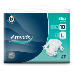 Attends® Slip Active 10 large