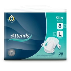 Attends® Slip Active 8 large