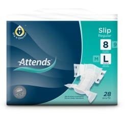 Attends® Slip Regular 8 L
