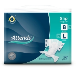 Attends® Slip Regular 8 large