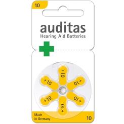 auditas 10 Hörgerätebatterien