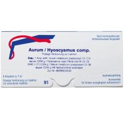 AURUM/HYOSCYAMUS comp. Amp.