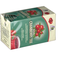 Avitale Cranberry Tee Filterbeutel
