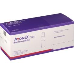 Avonex 30 µg 6 Mio I.e. Trockensubstanz mit Lösungsmittel