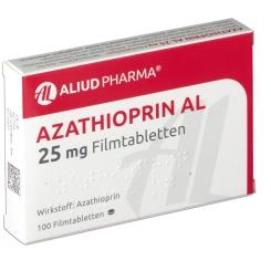 AZATHIOPRIN AL 25MG FTA