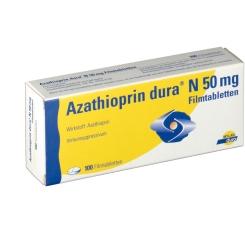 AZATHIOPRIN dura N 50 mg