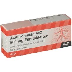 Azithromycin AbZ 500mg