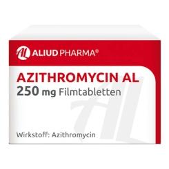 Azithromycin AL 250 mg Filmtabletten