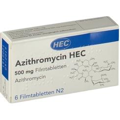 AZITHROMYCIN HEC 500MG