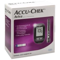 B. ACCU CHEK AVIVA 3SET MG/DL gratis