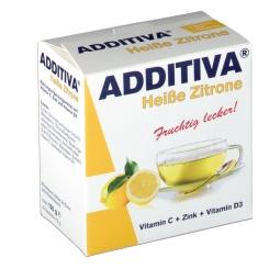 B. Additiva Heißgetränk Zitrone gratis als 2 + 1 Aktion